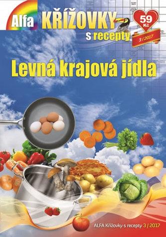 Křížovky s recepty 3/2017 - Levná krajová jídla - neuveden