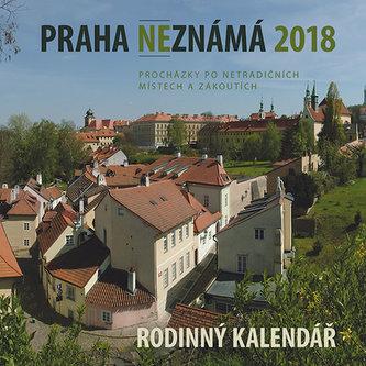 Praha neznámá 2018 - Rodinný kalendář - Petr Ryska