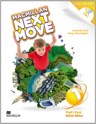 Macmillan Next Move Level 1 Pupil´s Book with DVD-ROM - Amanda Cant