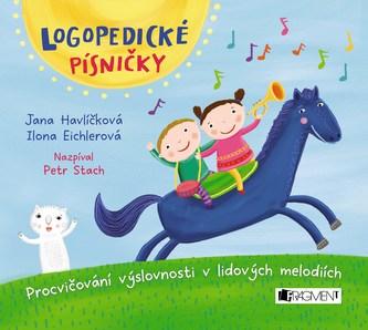 Logopedické písničky (audio CD pro děti) - Ilona Eichlerová