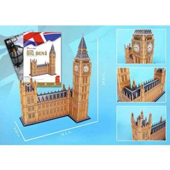 CubicFun - Puzzle 3D Big Ben - 117 dílků