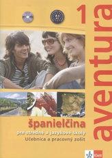 Aventura 1 SK - učebnica s prac. zošitom + 2CD