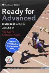 Ready for Advanced (CAE) (3rd Ed) Student´s Book & Key, Macmillan Practice Online, Online Audio & eBook
