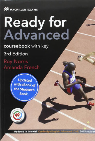Ready for Advanced (CAE) (3rd Ed) Student´s Book & Key, Macmillan Practice Online, Online Audio & eBook - French, Amanda