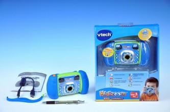 Kidizoom Kid Connect Fotoaparát - modrý Vtech plast 14cm na baterie na kartě
