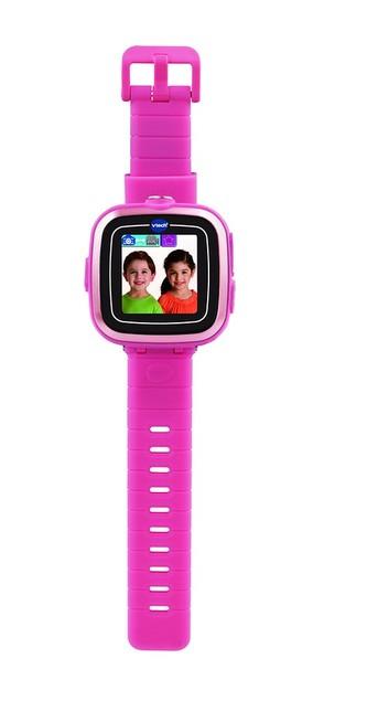 Kidizoom VTech Smart hodinky růžové s fotoaparátem a videokamerou a doplňky na baterie v krabici