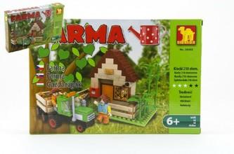 Stavebnice Dromader Farma 28502 210ks v krabici 32x21,5x5cm