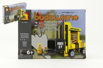 Stavebnice Dromader Auto Vysokozdvižný Vozík 29501 206ks v krabici 25,5x18,5x4,5cm