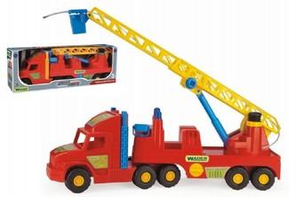 Auto Super Truck hasiči plast 77cm v krabici Wader