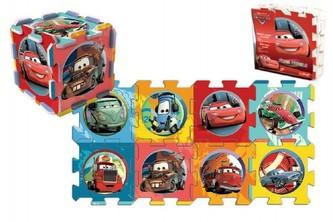Pěnové puzzle Cars/Auta 32x32x1cm 8ks v sáčku