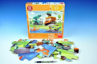 Puzzle MAXI Tatra 66x47cm 24dílků v krabici 30x30x7cm - Dino