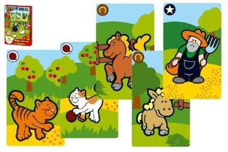 Černý Petr Moje první zvířátka společenská hra - karty v papírové krabičce MPZ 6x9cm