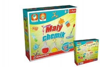 Malý chemik vědecká hra 21 pokusů Science 4 you v krabici 23x22x6,5cm