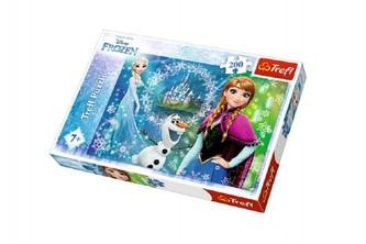 Trefl - Ledové království: Puzzle/200 dílků