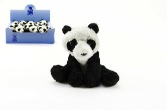 Panda plyš 14cm 18ks v boxu
