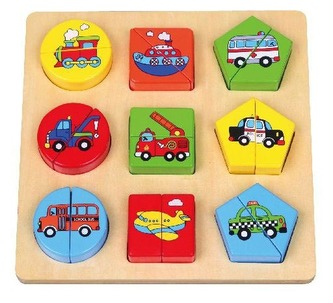 Puzzle dopravní prostředky