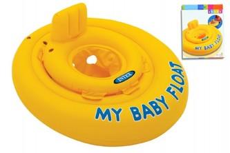 Baby kruh nafukovací +- 70cm v krabici 6-12m - Teddies