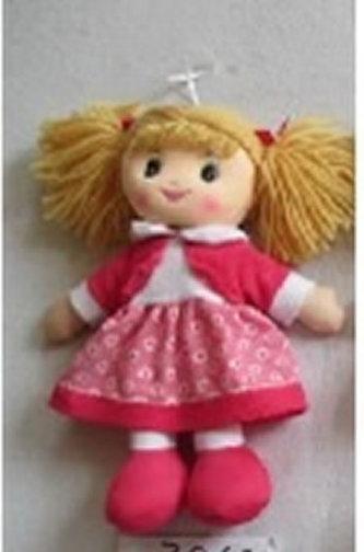 Panenka hadrová, 30 cm - růžová - neuveden