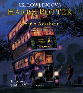 Harry Potter a vězeň z Azkabanu - ilustrované vydání - Rowling J.K
