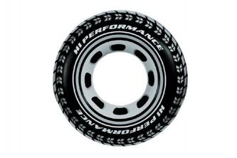 Teddies - Kruh pneumatika nafukovací 91cm v sáčku