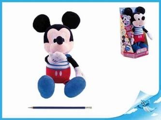 Mickey Mouse Clubhouse Kiss Kiss plyšový 32cm na baterie se zvukem 18m+ v krabičce