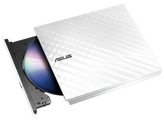 ASUS SDRW-08D2S-U LITE/WHITE/ Externí slim/ DVD-RW/ bílá/ USB