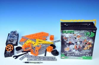 Stavebnice Variant plast 118ks v krabici 22x25cm