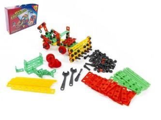 Stavebnice Variant Mega konstruktér 458 dílů v krabici 46x33x12cm