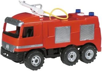 Lena - Mercedes auto hasiči plast 60cm v krabici