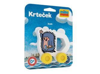 Moje první autíčko - Krteček/Ježek - Miler Zdeněk