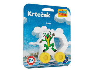 Moje první autíčko - Krteček/Žabka - Miler Zdeněk