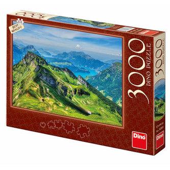 Švýcarsko - puzzle 3000 dílků - neuveden