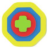 Moje první puzzle - Tvary osmiúhelník/žlutá