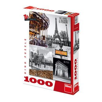 Paříž - puzzle 1000 dílků - neuveden