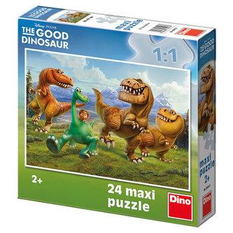 Hodný dinosaurus: V horách - Maxi puzzle 24 dílků - Disney Walt