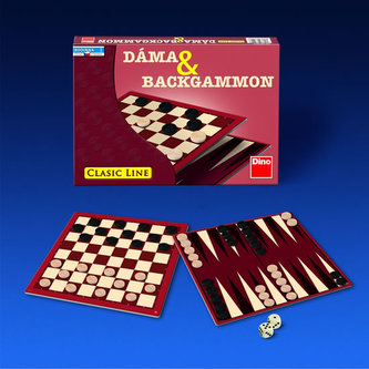 Dáma a Backgammon - Hra - neuveden