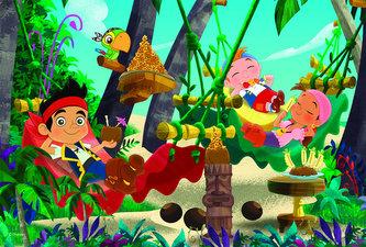 Jake a Piráti - puzzle 66 dílků - neuveden