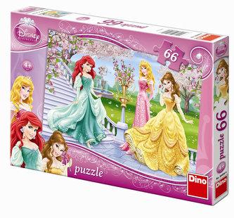 Princezny - puzzle 66 dílků - neuveden