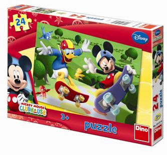 Mickeyho klubík - puzzle 24 dílků - neuveden