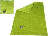 Krtek - Sada deka+polštář -zelená