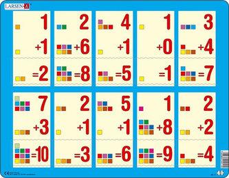 Puzzle MAXI - Počítání do 10 /10 dílků - neuveden