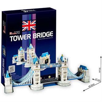 Puzzle 3D Tower Bridge - 41 dílků - neuveden