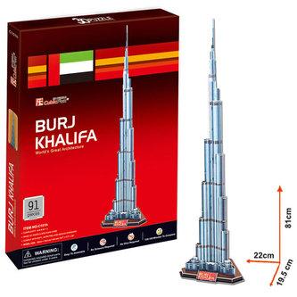 Puzzle 3D Burj Khalifa - 91 dílků - neuveden