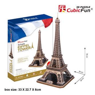 Puzzle 3D Eiffelova vež - 82 dílků - neuveden