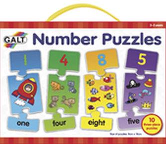 Galt - Puzzle – moje první anglické číslice 2.