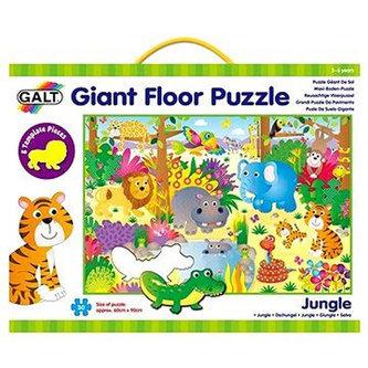 Velké podlahové puzzle – zvířátka v džungli - neuveden
