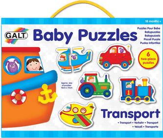 Puzzle pro nejmenší – dopravní prostředky 2. - neuveden