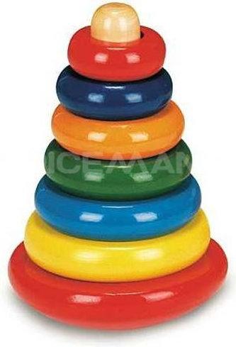 Skládací pyramida barevná - neuveden