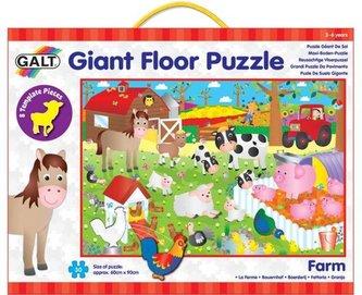 Galt - Velké podlahové puzzle – na farmě