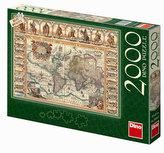 Historická mapa světa - puzzle 2000 dílk